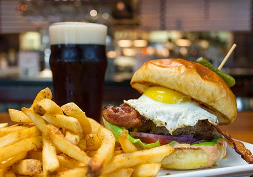 Burgers Beer and Fries